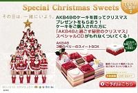 AKB48のクリスマスケーキ