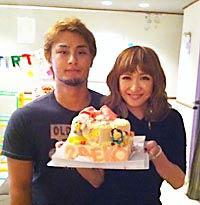 紗栄子ダルビッシュの2ショット写真