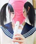 かおぱん。女子校生パンティ仮面