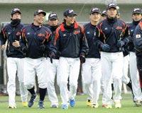 WBCの日本代表合宿