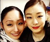 安藤美姫と仲よさげな写真