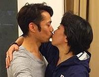 文春に掲載されたキス写真