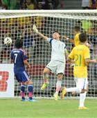 サッカー日本代表・ブラジル戦 失点