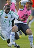 2010年W杯直前のジンバブエ戦