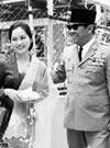 (インドネシア・スカルノ)元大統領夫人