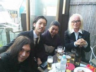 金子マリ/kenken/ノブアキに内田裕也