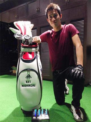 錦織圭 ゴルフ