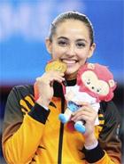 ハジ選手 計6個のメダルを獲得