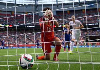 W杯オランダ戦 ロスタイムに失点