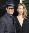 ジョニー・デップと妻アンバー・ハード