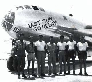 B-29 Enola Gay→Last Sun Go Relay