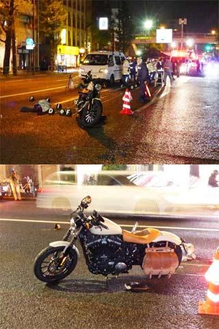 萩原流行さんオートバイ事故で死亡
