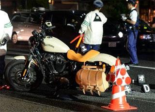 萩原流行 事故にあったバイクは3月に買ったばかりだった
