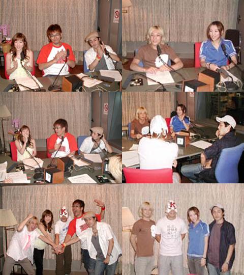 2004年7月ラジオ番組に出演時のNAON