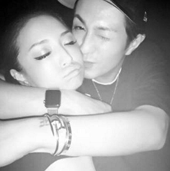 AAA浦田直也と浜崎あゆみのキス写真